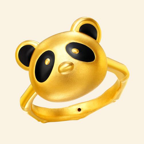 QQ熊 戒指